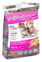 """Корм сухой для котят """"Kitten 1`st diet"""" (400 г; с цыпленком)"""