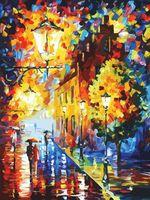 "Картина по номерам ""Огни в ночи"" (800х600 мм)"