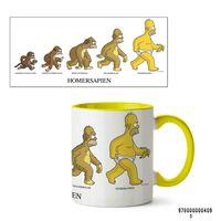 """Кружка """"Симпсоны"""" (арт. 409, желтая)"""