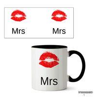 "Кружка ""Mrs"" (651, черная)"