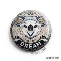 """Значок """"Dream"""" (арт. 1800)"""