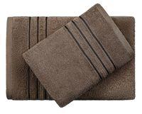 "Полотенце махровое ""Верона"" (50х90 см; темно-коричневое)"