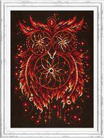"""Вышивка крестом """"Пламя души"""" (290x400 мм)"""