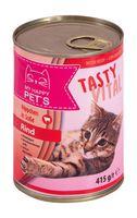 Консервы для кошек (415 г; говядина)
