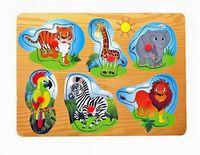 "Рамка-вкладыш ""Дикие животные Африки"" (арт. 277A-2726)"
