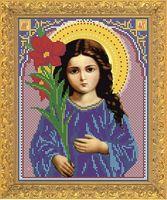 """Вышивка бисером """"Святая Богородица. Трилетствующая"""" (арт. 8365)"""