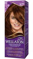 """Крем-краска для волос """"Wellaton. Интенсивная"""" (тон: 5/77, какао)"""
