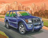 "Картина по номерам ""Toyota Land Cruiser"" (400х500 мм)"