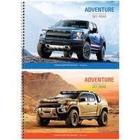 """Альбом для рисования """"Off-Road Adventures"""" (А4; 24 листа; в ассортименте)"""