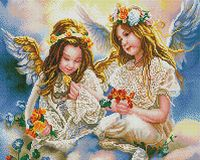 """Алмазная вышивка-мозаика """"Два ангела"""""""