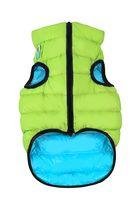 "Куртка двусторонняя ""Airy Vest"" (45-50 см; салатово-голубая)"