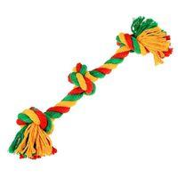 """Игрушка для собак """"Канатный грейфер. 3 узла"""" (33х1,6 см)"""