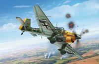 "Бомбардировщик ""Ju 87 B2 STUKA"" (масштаб: 1/48)"