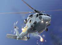 "Многоцелевой вертолет ""HH-60H Seahawk"" (масштаб: 1/72)"