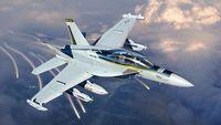 """Самолет """"EA-18G Growler"""" (масштаб: 1/48)"""