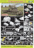 """Набор миниатюр """"2cm Flak 38 auf Pz.Kpfw.I Ausf.A Flakpanzer I"""" (масштаб:1/35)"""