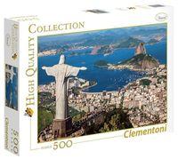 """Пазл """"Рио-де-Жанейро.Статуя Христа-Искупителя"""" (500 элементов)"""