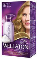 "Краска-мусс для волос ""Wellaton"" (тон: 8/11, серебристый блондин)"