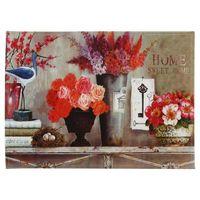 """Коврик для входной двери """"Нежность цветов"""" (60х45 см, арт. 37366)"""