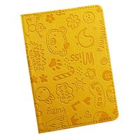 """Обложка для паспорта """"Happy Friends"""" (желтая)"""