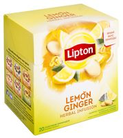 "Фиточай ""Lipton. Lemon Ginger"" (20 пакетиков)"