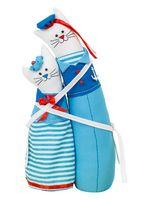 """Набор для шитья из ткани """"Коты-обнимашки. Морские"""""""