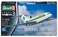 """Сборная модель """"Пассажирский самолет Boeing 727-100 Germania"""" (масштаб: 1/144)"""