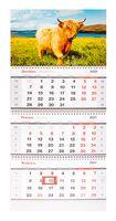 """Календарь настенный квартальный на 2021 год """"Символ года"""" (29,5х70 см)"""