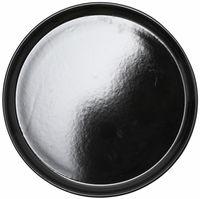 """Тарелка керамическая десертная """"Nordic"""" (220 мм; черная)"""