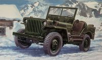 "Автомобиль ""Willys Jeep 1/4 ton"" (масштаб: 1/24)"