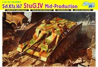 "САУ ""Sd.Kfz.167 StuG.IV Mid-Production"" (масштаб: 1/35)"