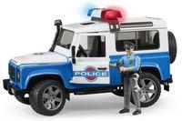 """Модель машины """"Внедорожник Land Rover. Полиция с фигуркой"""" (масштаб: 1/16)"""