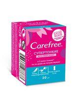 "Ежедневные прокладки ""Carefree With fresh scent. Супертонкие"" (20 шт.)"