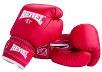 Перчатки боксёрские RV-101 (10 унций; красные)