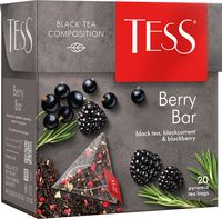 "Чай черный ""Tess. Berry Bar"" (20 пакетиков)"