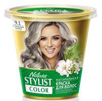 """Краска для волос """"Nature Stylist Color"""" тон: 9.1, пепельный блонд"""