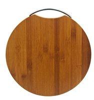 Доска разделочная бамбуковая (280х280х18 мм; арт. 4610008)