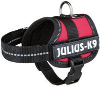 """Шлея тренировочная для щенков """"Julius-K9"""" (1/XS; 30-40 см; красная)"""