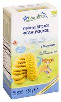 """Печенье детское """"Fleur Alpine Organic. Французское"""" (150 г)"""