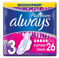 """Гигиенические прокладки """"Always Ultra Platinum Normal Plus Quatro"""" (26 шт.)"""
