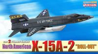 "Самолет-ракетоплан ""North American X-15A-2 Roll-Out"" (масштаб: 1/144)"