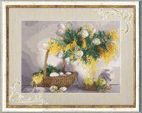 """Вышивка крестом """"Желтый натюрморт"""""""