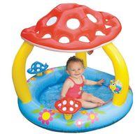"Бассейн надувной детский ""Mushroom Baby Pool"" (102х89 см)"