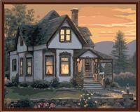 """Картина по номерам """"Уютным вечером"""" (400х500 мм)"""