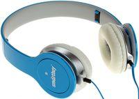 Полноразмерные наушники SmartBuy ONE, складная конструкция, плоский кабель, синий (SBE-9420)