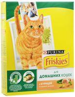 Корм сухой для домашних кошек (300 г; курица и садовая зелень)