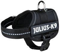 """Шлея тренировочная для щенков """"Julius-K9"""" (1/XS; 30-40 см; черная)"""