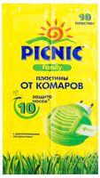 """Пластины от комаров """"Picnic Family"""" (10 шт.)"""