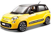 """Модель машины """"Bburago. Fiat 500L"""" (масштаб: 1/24)"""