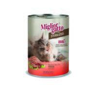"""Консервы для стерилизованных кошек """"Gatto"""" (400 г; телятина)"""